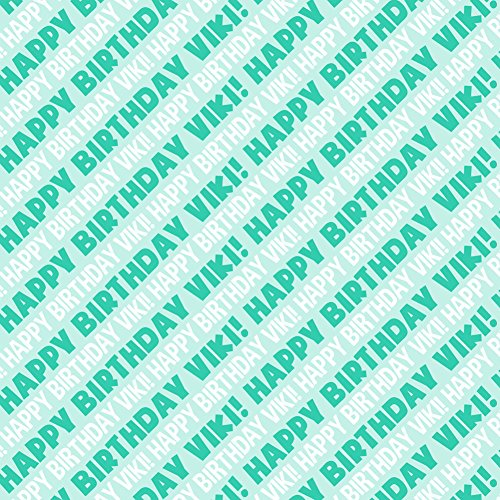 viki-happy-birthday-premium-gift-wrap-wrapping-paper-roll-teal