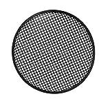 HQ Power 12' Black Metal Speaker Grille Soporte de Altavoz Negro - Soporte para Altavoces (Metal, Negro, 305 mm, 305 mm)
