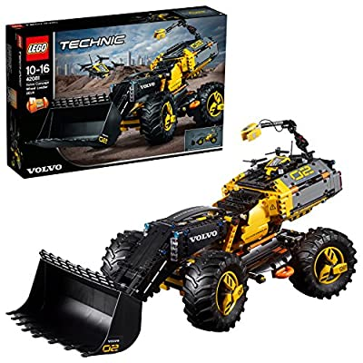 LEGO 42081 Technic Volvo Concept Wheel Loader Zeux Toy, 2-in-1 Model, Construction Toys for Kids