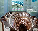 Wapel Der Fußboden im Bad Fahrstuhl Etage Bad mit Stereo Super Cool Lift 3D 150 X 105 cm