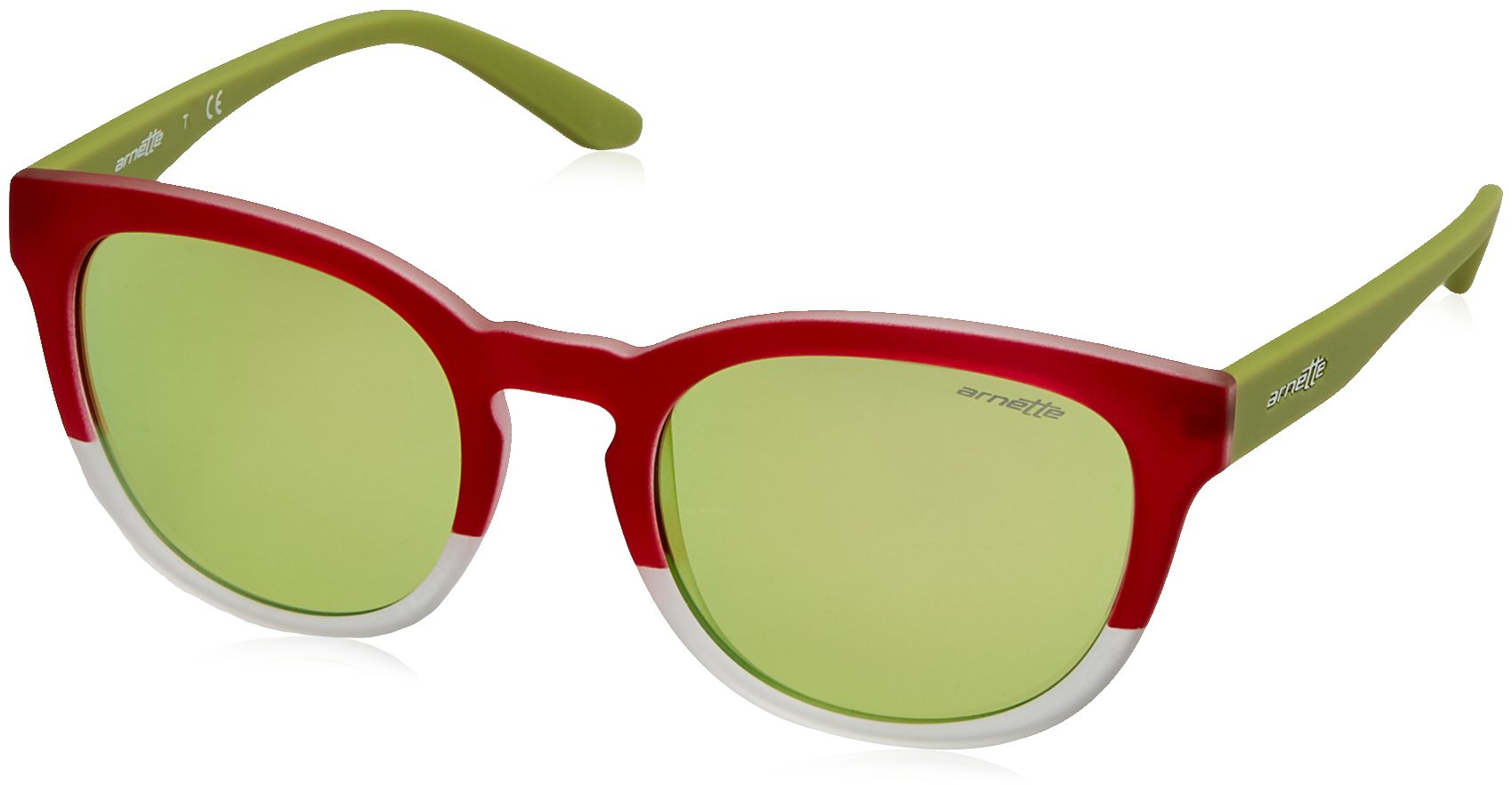 Arnette Cut Back gafas de sol, Bordeaux/Matte Crystal, 53 para Hombre