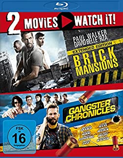 Brick Mansions/Gangster Chronicles [Blu-ray]