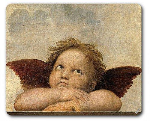 Preisvergleich Produktbild 1art1 89133 Raphael - Raffaels Engel (Detail) Mauspad 23 x 19 cm