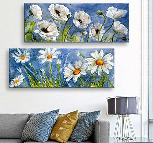 mdz-2-pcs-creative-continental-la-blanche-neige-fleurs-peinture-decorative-giclee-toiles-frameless-p