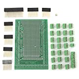 Ils - Double-Side Piece B Prototype Screw Terminal Block Shield Board Kit for Mega2560 R3