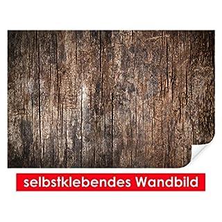 XXL-Tapeten selbstklebendes Wandbild Old Wood – leicht zu verkleben – Wallprint, Wallpaper, Poster, Vinylfolie mit Punktkleber für Wände, Türen, Möbel und alle glatten Oberflächen von Trendwände