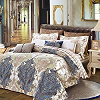 Upscale cotone raso cotone 80 di lusso biancheria da cavallo di quattro , B , 220*240 quilt