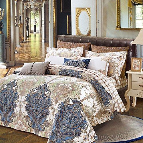 Upscale cotone raso cotone 80 di lusso biancheria da cavallo di quattro , B , 200*230 quilt