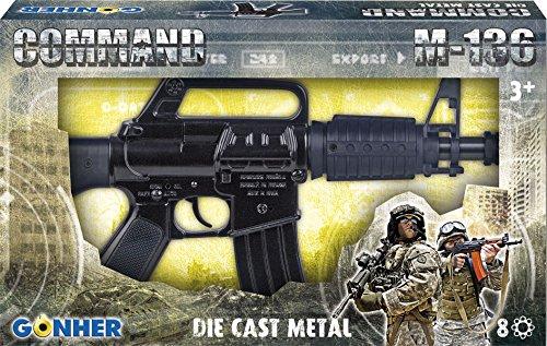 Gonher - Rifle de asalto M-136 de juguete