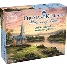 Thomas Kinkade Painter of Light with Scripture 2018 Day-to-D