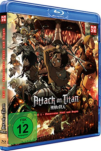 Attack on Titan - Anime Movie Teil 1: Feuerroter Pfeil und Bogen [Blu-ray]