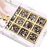 Ghasitaram Gifts Diwali Gifts Diwali Chocolates - Marble Chocolate Box (12 Pcs)