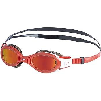 ba0c8c1ecd2 Speedo Kids' Junior Unisex Futura Bio Fuse Flexi Seal Mirror Goggles,  Black/Red