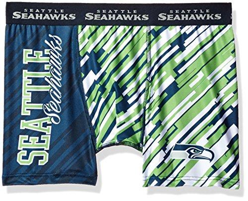 FOCO Seattle Seahawks Wordmark Underwear Small