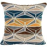 """Nuevo estilo almohada sofá cintura Throw Cojín Decoración del hogar Cojín Funda se vende por mmtop, 43x 43cm 43X43cm/16.9X16.9"""" azul"""