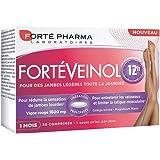 Forté Pharma - Forté Veinol 12h | Complément Alimentaire à base de Vigne Rouge - Circulation | 30 comprimés