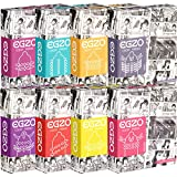 EGZO «Cocky Friend» Spaßpack mit 8 skurrilen Kondomen (mit Stacheln, Kugeln, Noppen)