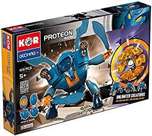 Geomag- KOR Proteon Juego de construcción, Multicolor, 103 Piezas (5517519)