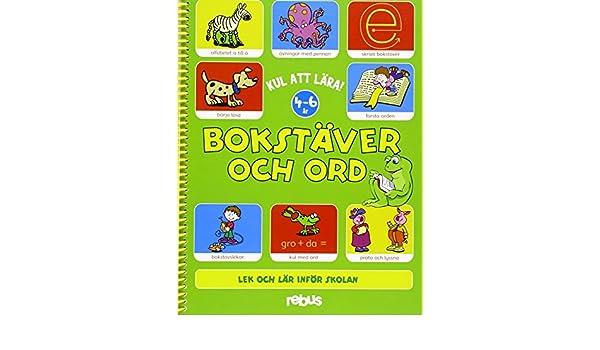 Bokstäver Och Ord Kul Att Lära Amazoncouk Books