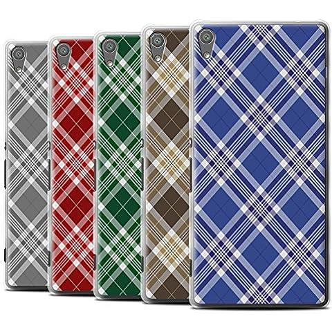 Carcasa/Funda STUFF4 dura para el Sony Xperia XA Ultra/F3212/F3216 / serie: Picnic Tartán Diseño - Paquete