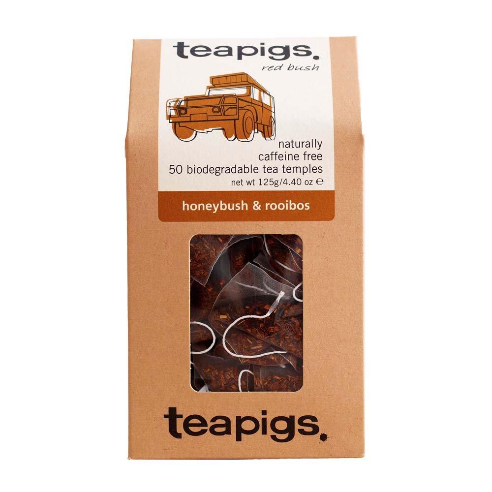 Teapigs honeybush and rooibos tea (rooibos tea) (50 bags) (brews in 3 minutes)