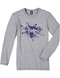 Schiesser - Camiseta de pijama para niño