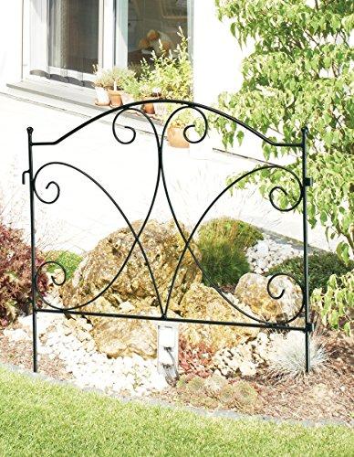 Bordure de jardin métal anthracite. 123187 C