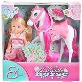 Simba - 105732833 - Poupées et mini-poupées - Evi Love - Cheval Royal + Accessoires