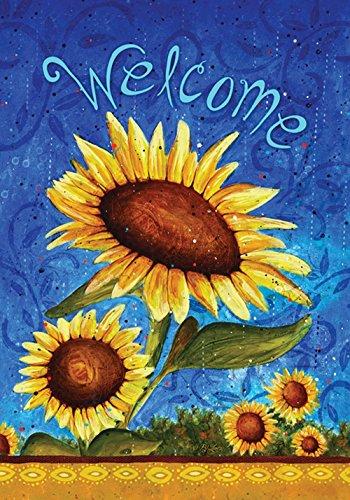 toland-home-garden-susse-sonnenblumen-blau-gelb-3175x4572x01-cm