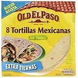 Old el Paso -  Tortitas Mexicanas de Trigo, pack de 8 tortitas (pack de 2 unidades)
