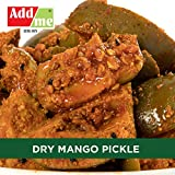 Add Me Home Made Dry Mango Pickle Less Oil 500gm Aam ka Achar Glass jar