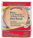 Josephs Low Carb Flax, Oat Bran & Whole Wheat Pita / Pitta Bread