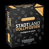 DENKRIESEN - Stadt Land VOLLPFOSTEN - Das Kartenspiel - Classic Edition: Intelligenz Ist relativ. Kartenspiel mit 120 Karten