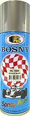 Bosny Aerosol Spray Paint (400 ml, Metallic Silver)
