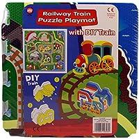 A to Z A a Z:09328 - Esterilla de Juego con diseño de Puzzle con Tren - Peluches y Puzzles precios baratos