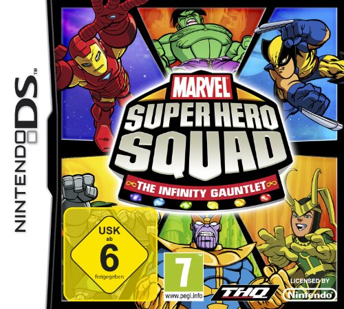 THQ Entertainment GmbH Marvel Super Hero Squad: The Infinity Gauntlet