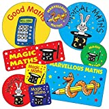 Mixed Size and Design Maths Reward Stickers x 55 - Primary Teaching Services