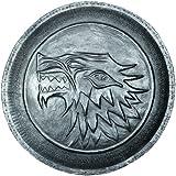 Dark Horse - Game Of Thrones, escudo huargo pin de zinc de la casa Stark, 5 cm (SDTHBO22175)