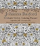 Johanna Basford 2016-2017 Coloring Weekly Planner Calendar