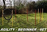 AGILITY-BEGINNER-SET ROT / GELB