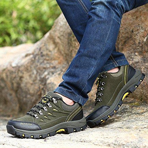 Ben Sports Chaussures De Randonnée Chaussures De Randonnée Bottes De Randonnée Pour Hommes F - Green