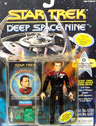 Q in DS9 Starfleet Uniform - Actionfigur - Star Trek Deep Space Nine von Playmates (Deep Space Nine Playmates)