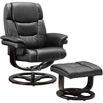 unmatchable execuitve recliner chair bonded leather black brown rh amazon co uk black circle car repairs black circle car repairs