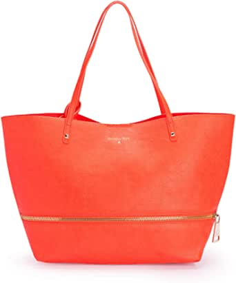 Patrizia Pepe borsa shopping con pochette 2V6353 new orange