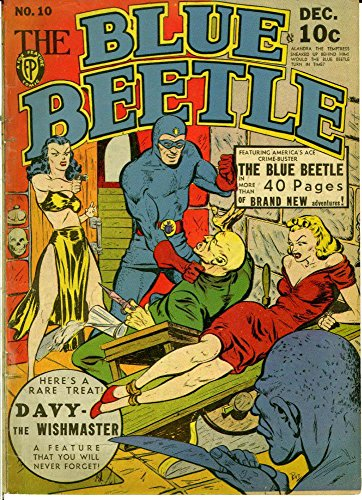 The Blue Beetle - Issue 010 (Golden Age Rare Vintage Comics Collection (With Zooming Panels) Book 10) (English Edition)