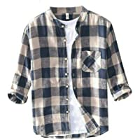TLF Men's Casual Printed Multi Color Linen Cotton Shirts for Men with Free Mask