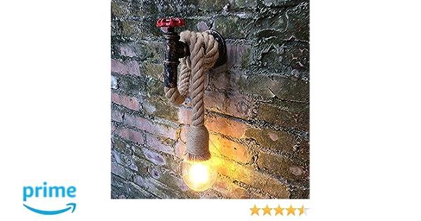Lingjun applique da parete interni vintage industriale lampada da