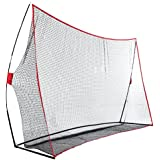 Golf Practice Net, 10 X 7ft Golf Training Hitting Driving Chipping Net With Bow Frame