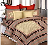 #9: Shop Jaipuri Cotton Rajasthani Single Bedsheet With 1 Pillow Cover