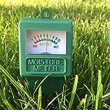 Xuniu Bodenfeuchtigkeit Tester Humidimeter Meter Detektor Garten Pflanze Blume Testing Tool Grün 28 cm